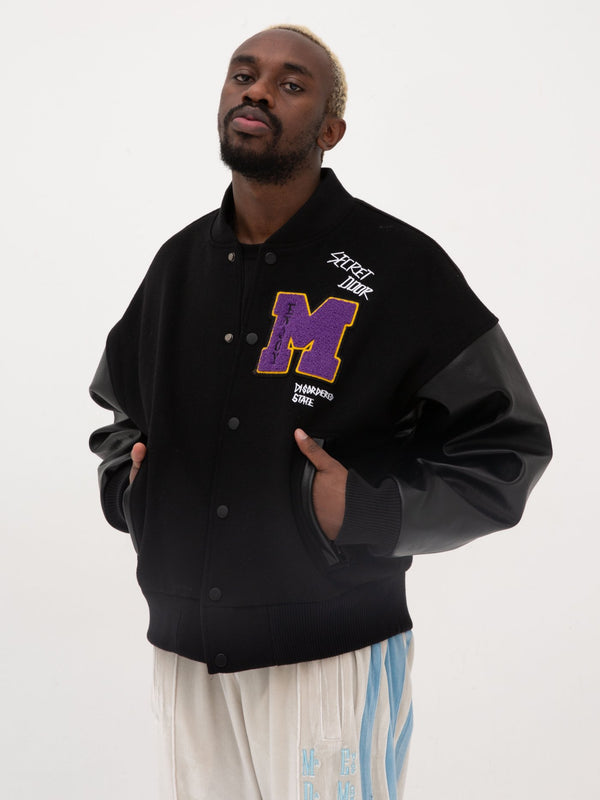 MEDM baseball uniform jacket