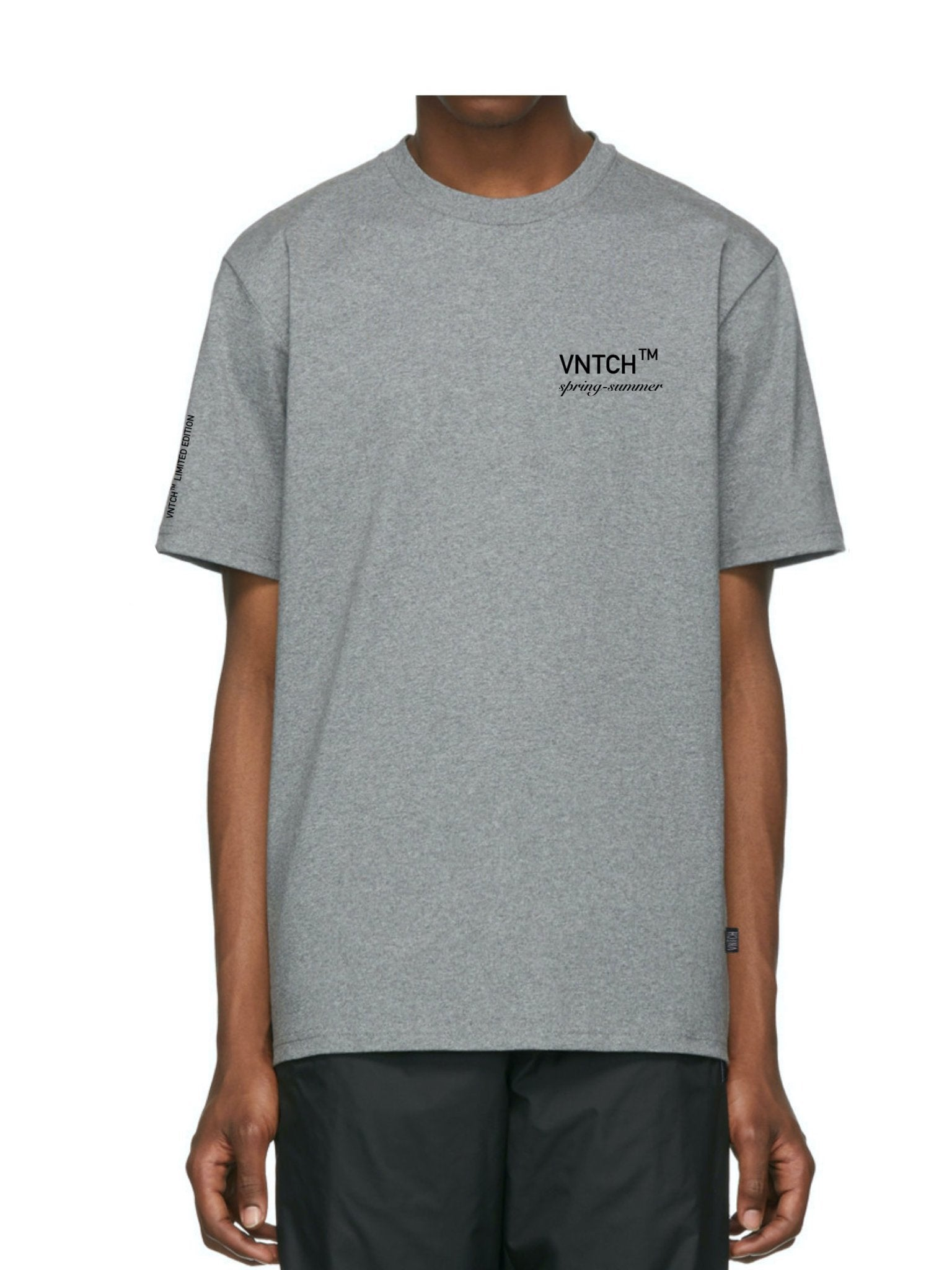 VNTCH HEAD T-SHIRT GREY