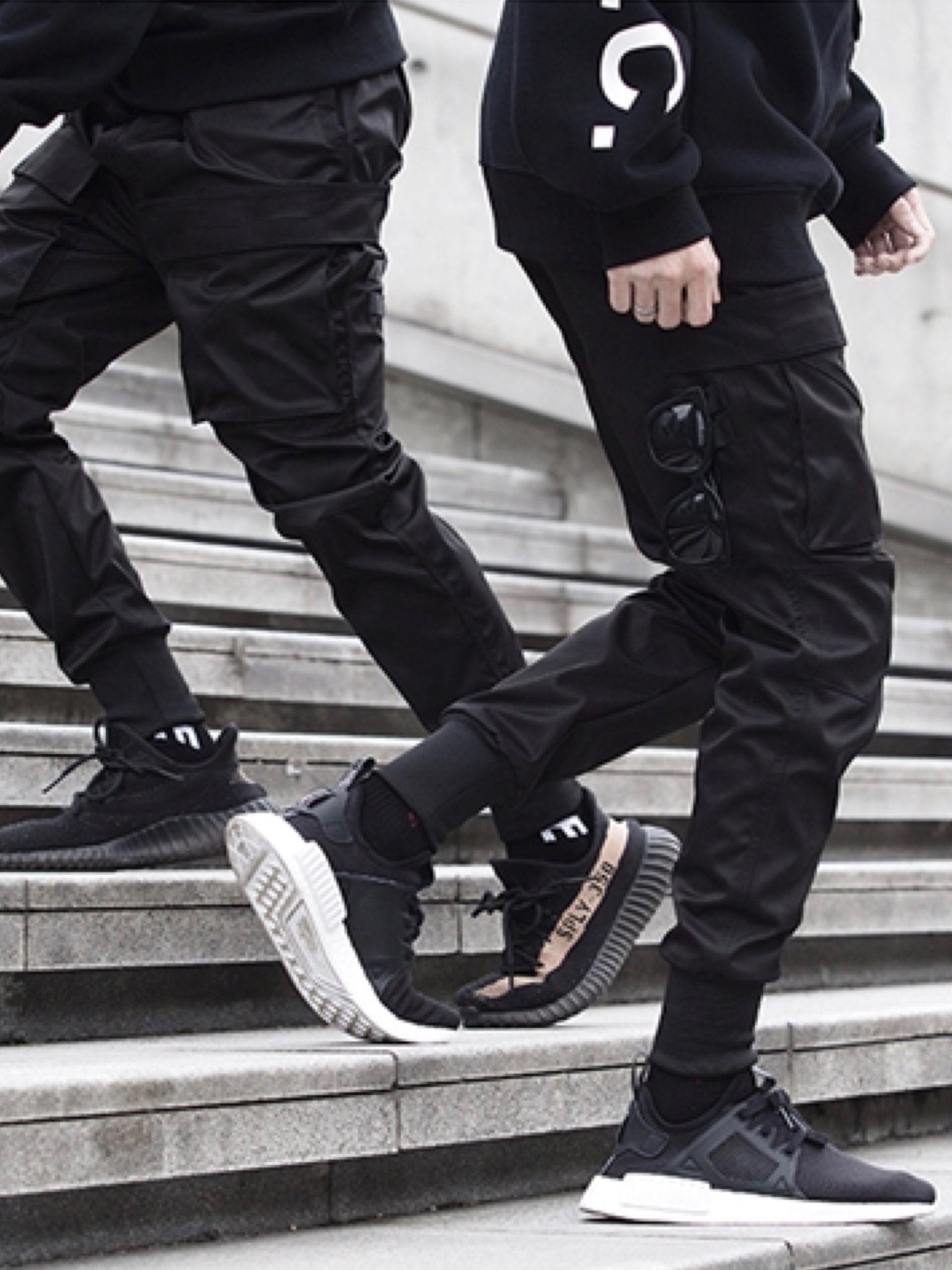 DOUBLE CARGO POCKET PANTS