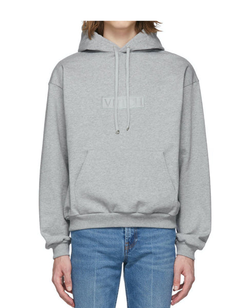 CROPPED OVERSIZE HOODIE GREY