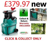 £339.77 new Bosch **** CLICK & COLLECT ONLY **** new Bosch AXT25TC Garden SHREDDER 0600803370 3165140465373