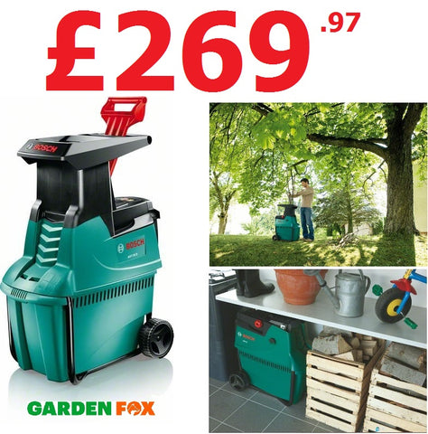 £269.97 - Bosch ****  CLICK & COLLECT ONLY  ***** new Bosch AXT25D Garden Drum Shredder 0600803170 3165140465335