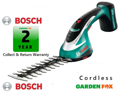 new BOSCH ASB 10.8Li Cordless Li-ION Shears 0600856370 3165140560290