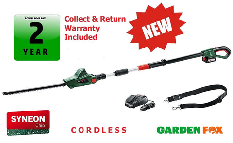 New £167.97 BOSCH UniHEDGEPOLE18 Cordless Long HEDGECUTTER 06008B3070 3165140888073