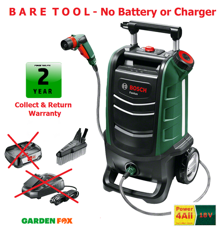 new - BARE TOOL Bosch FONTUS 18V Cordless Water WASHER 06008B6001 3165140909075