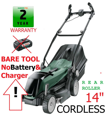 New £217.77 BARE TOOL Bosch Easy ROTAK 36-550 Cordless LAWNMOWER 06008B9B01 4059952526869