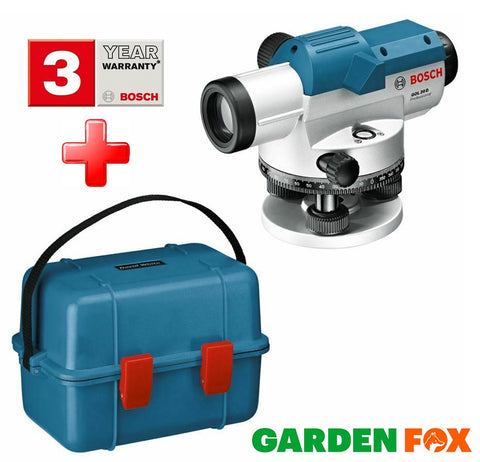 new Bosch PRO GOL20D Optical LEVEL & CASE - 0601068400 3165140603287