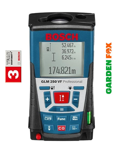 new - Bosch GLM 250 VF PRO Laser Range Finder 0601072170 3165140547994