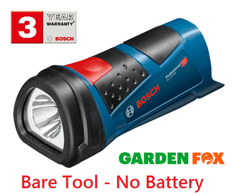 new Bosch GLI12V-80 FlashLIGHT TORCH - 0601437V00 3165140825481