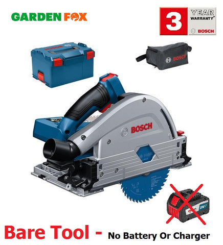 New £363.97 - BARE TOOL - Bosch GKT18V-52 18V PLUNGE SAW in L-Boxx 06016B4000 3165140930666