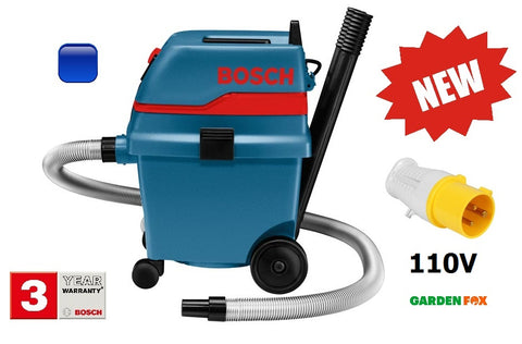 New £319.97 - Bosch 110V GAS 25L SFC DUST EXTRACTOR 0601979141 3165140260480
