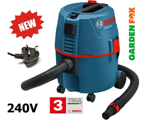 new Bosch 240V GAS 20L SFC -DUST EXTRACTOR - 060197B070 3165140556996