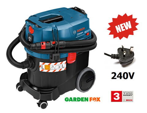 new PRO Bosch 240V GAS 35L SFC+ -DUST EXTRACTOR- 06019C3060 3165140705455