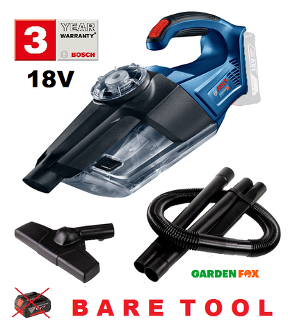 new BARE TOOL Bosch GAS18V-1 - Vacuum Cleaner 06019C6200 3165140888677