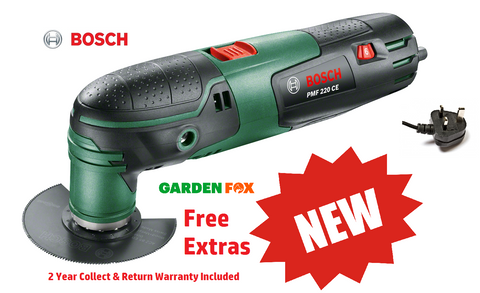 new Bosch PMF 220 CES MultiFunction Tool 220 watt 0603102070 3165140828505