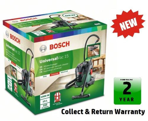 new BOSCH Universal VAC 15 VACUUM CLEANER 06033D1170 3165140873970