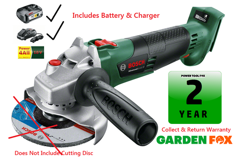 New £149.97 (INC Battery & Charger ) Bosch AdvancedGRIND 18  06033D3100 3165140874564