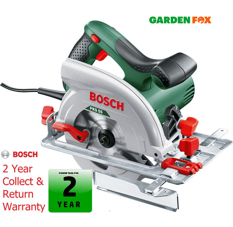 new Bosch PKS55 - Circular Saw - 1200W 0603500070 3165140477703