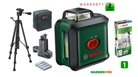 new Bosch UniLevel 360 plus extras GREEN Lazer Line LEVEL 0603663E01 4059952513027