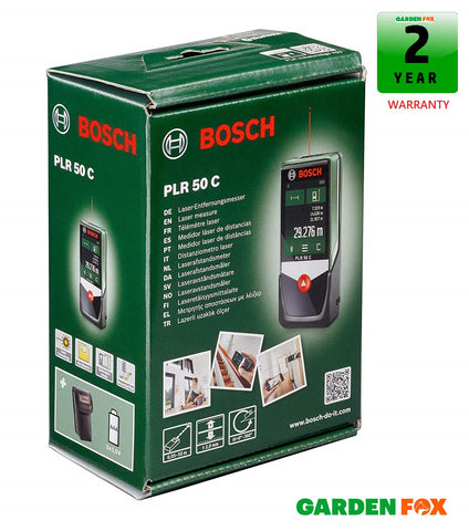 new Bosch PLR50C Laser Measurer Bluetooth 0603672201 3165140830072