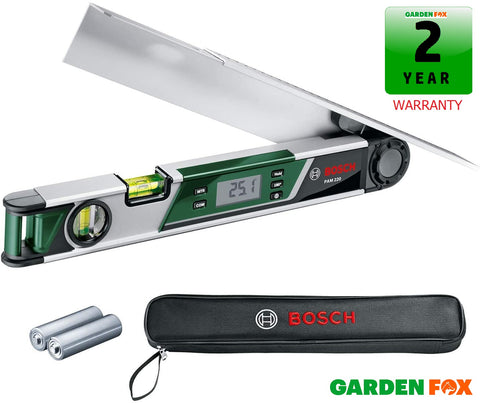 new Bosch PAM 220 Digital Angle Measurer 0603676000 3165140772600