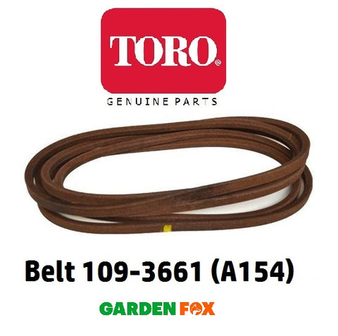 new GENUINE Toro TITAN Lawn Tractor Cutter Blade BELT (A154) 109-3661 380