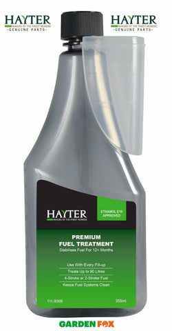 new HAYTER FUEL TREATMENT to Keep Petrol Fresh 111-9366 9310317999012