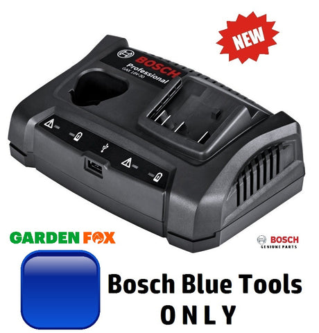 new - Bosch 10.8/12V/18V BLUE TOOL BATTERY CHARGER 1600A011AA 3165140904827