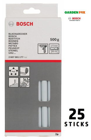 new £15.97 Bosch GREY GLUE-STICKS for Glue Guns 2607001177 3165140048422