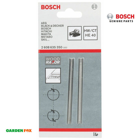 new Bosch Planer BLADES Tungsten Carbide Woodrazor 2608635350 3165140200639