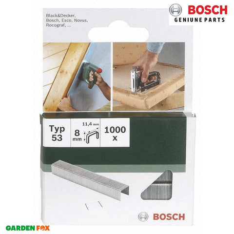 new Bosch PTK3,6Li FINE WIRE STAPLES (Packof1000) 2609255820 3165140392716