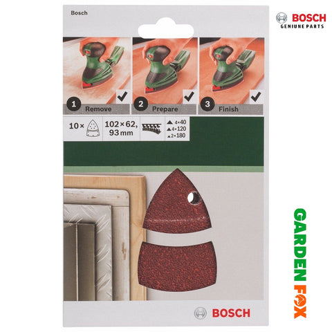 Bosch SANDING SHEET Set for Multi-Sanders -10- 2609256A67 3165140614832
