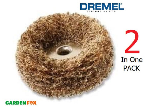 DREMEL 511S - Abrasive BUFF Medium Coarse 2 Pack - 2615S511JA - 8710364037100