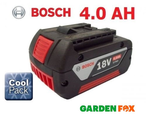 new Bosch 18v 4.0AH Li-ION Battery Cool Pack 2607336815 1600Z00038 3165140730464