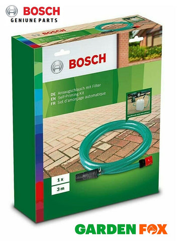 new - Bosch AQT Self Priming Hose + Connector F016800421 3165140794978