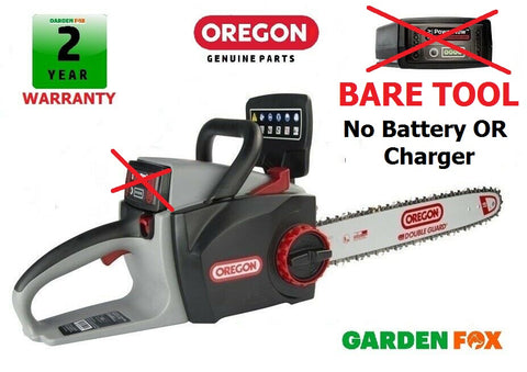 "New £167.77 - BARE TOOL - OREGON 16"" CS300 Cordless Chainsaw 573018 5400182213949"
