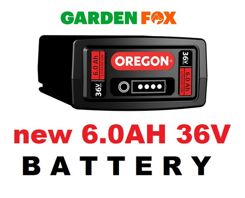new OREGON B650E 6.0AH 36V POWER BATTERY 583689 5400182272854 O155