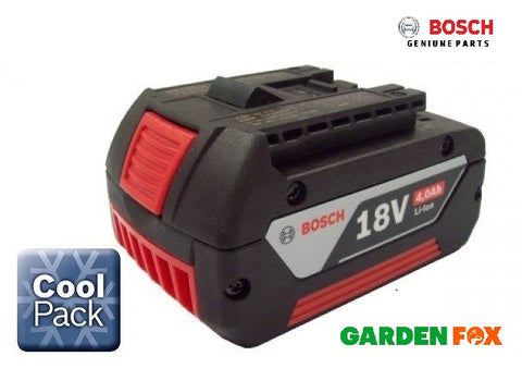 new Bosch 18v 4.0AH Li-ION Battery Cool Pack 2607336815 1600Z00038 O82