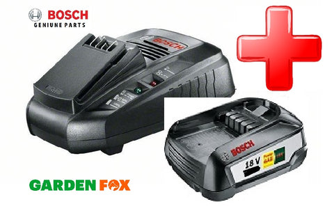 Copy of new Bosch 2.0AH GREEN TOOL Battery & Charger 18V Power Pack 18V