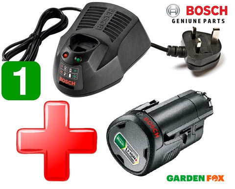 Bosch 12V POWER PACK AL1115CV 12V/10,8V Quick 30 MIN Battery CHARGER 2607225136 3165140724265 PLUS Bosch GREEN TOOL 12V 2.5AH Battery 3165140852623