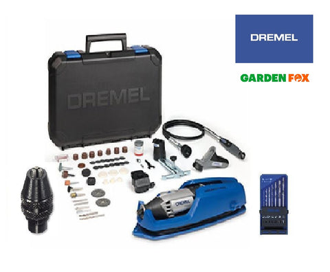 new DREMEL 4000-4/65 HP Multi-TOOL with extras F0134000LU 8710364077021