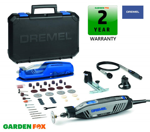 new £125.97 Dremel 4300 - 3/45 Multi-TOOL KIT F0134300JB 8710364079605