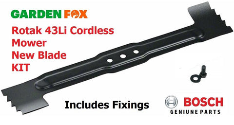 new - BOSCH Rotak 43 Li Grass Mower BLADE F016800369 3165140769594
