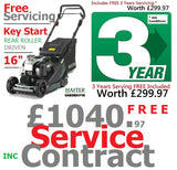 "£699.97 - Hayter ****CLICK & COLLECT ONLY**** new Hayter Harrier 41 16"" VS Button Start Autodrive Rear Roller MOWER Code 376B"