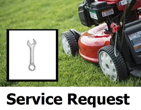 BOOK a MOWER SERVICE REPAIR Request