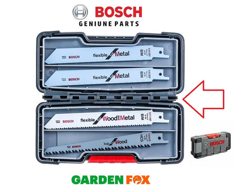 new  Bosch SABRE BLADES (15) Tough Box Mix 2607010902 3165140846486 O123