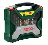 new £18.57 Bosch X50 Ti Masonary/Metal/Wood Set 2607019327 3165140379502