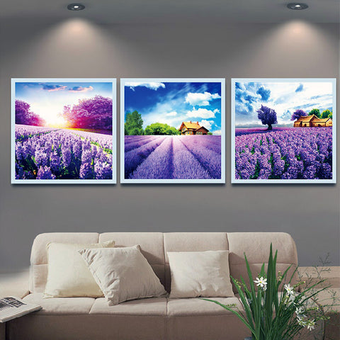 Image of DIY Painting By Numbers - Lavender Field