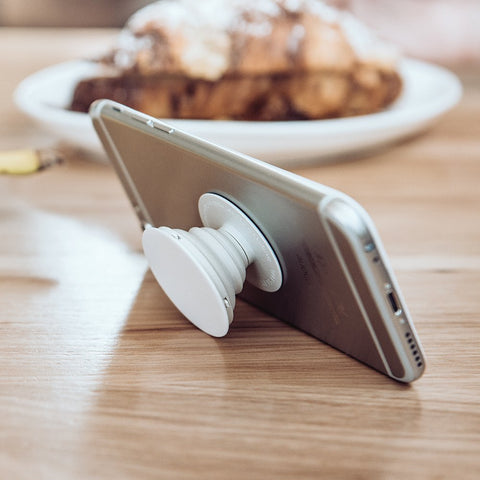 Collapsible Grip & Stand for Phones and Tablets