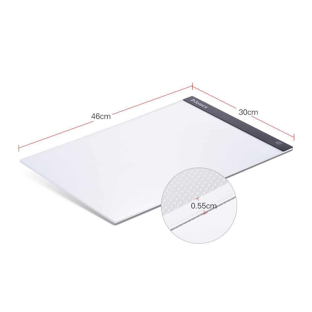Portable A3 LED Light Table For Drawing